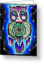 Owl No Uv Greeting Card