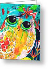 Owlette Greeting Card
