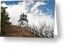 Owl's Head Lighthouse 4761 Greeting Card