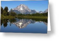 Oxbow Grand Teton Greeting Card