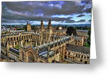Oxford University - All Souls College Greeting Card by Yhun Suarez