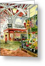 Oxford's Covered Market Greeting Card