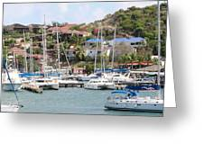 Oyster Bay Marina Greeting Card