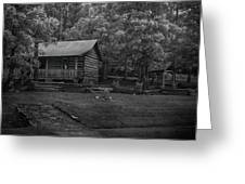 Ozark Cabin Greeting Card