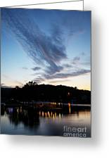 Ozark Sunrise 6 Greeting Card