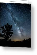 Ozarks Milky Way Greeting Card