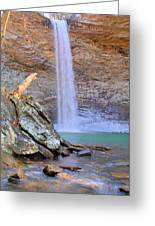 Ozone A 90 Foot Waterfall Greeting Card