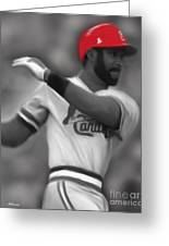 Ozzie Smith Greeting Card