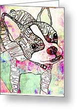 Ozzy Boy Greeting Card by Robin Mead