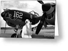P-38 Ghost Flight Greeting Card