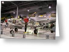 P-38 Lighting Marge Greeting Card