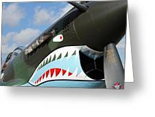 P-40 Flying Tigers Greeting Card