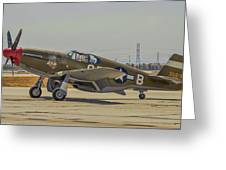 P-51c Mustang Greeting Card
