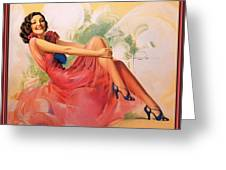 p rarmstrong 091 Rolf Armstrong Greeting Card