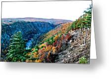 Pa Grand Canyon Greeting Card