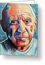 Pablo Picasso Greeting Card