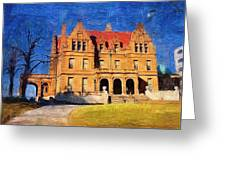 Pabst Mansion Greeting Card