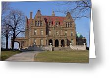 Pabst Mansion Photo Greeting Card