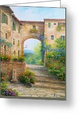 Pace In Toscana - Italy Greeting Card