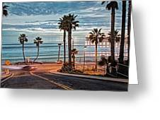 Pacific And 1st Street Greeting Card