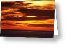 Pacific Backdrop  Greeting Card