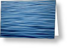 Pacific Brush Strokes Greeting Card