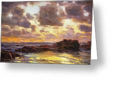 Pacific Clouds Greeting Card