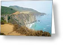 Pacific Coast Highway Dreams Greeting Card