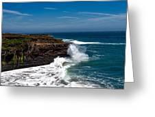 Pacific Coastline Greeting Card