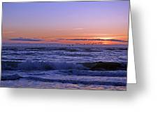 Pacific Flight Oregon Dunes Greeting Card
