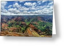 Pacific Grand Canyon Greeting Card