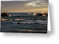 Pacific Ocean After The Storm Greeting Card