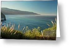 Pacific Ocean, Big Sur Greeting Card