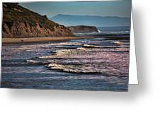 Pacific Ocean I Greeting Card