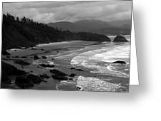 Pacific Ocean Moody Scenic Greeting Card