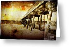 Pacific Pier Greeting Card