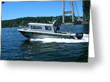 Pacific River Freedom Greeting Card