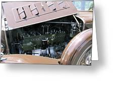 Packard Club Sedan 1934 Super 8 Greeting Card