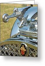 Packard Hood Ornament Greeting Card