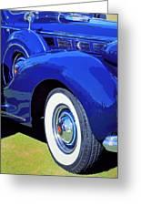 Packard Palm Springs Greeting Card