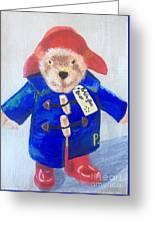 Paddington Bear Greeting Card