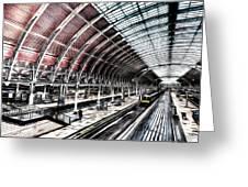 Paddington Station London Sketch Greeting Card