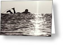 Paddle Out Greeting Card