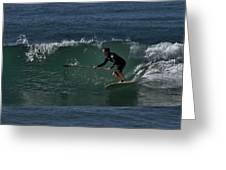 Paddleboarding 2 Greeting Card