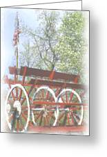 Paddlewheel Greeting Card