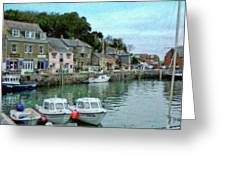 Padstow Harbour - P4a16021 Greeting Card