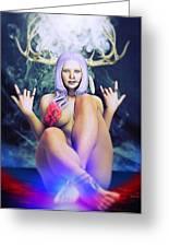 Pagan Paradise Greeting Card