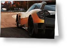 Pagani Huayra - Monza Greeting Card