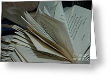 Pages Greeting Card