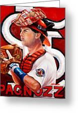Pagnozzi Greeting Card by Jim Wetherington
